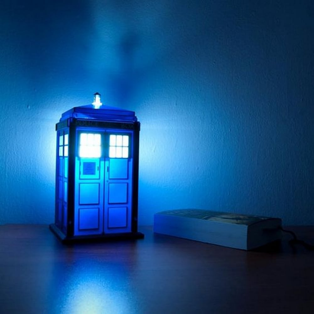 DIY TARDIS Nightlight