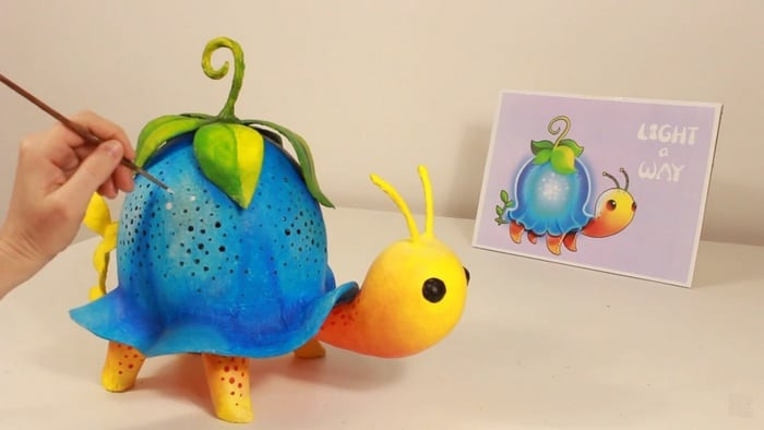 How To Make A Turtle Lamp Using A Balloon Craft Projects For Every