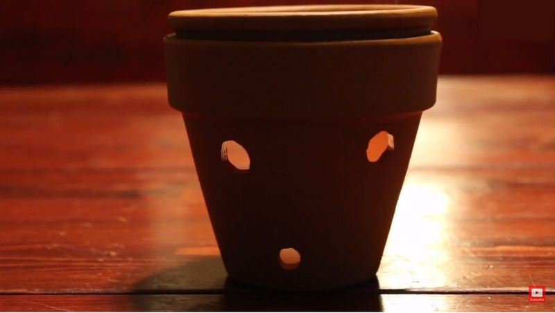 Just drill some holes on a terra cotta pot and you're good to go.