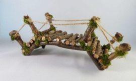 How to Make A Fairy Garden Bridge