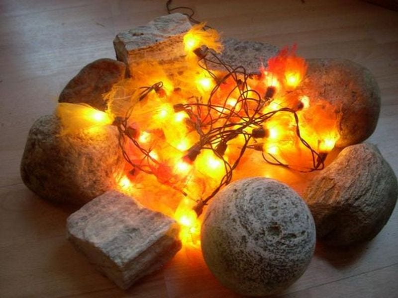 You can get step-by-step instructions here… - DIY Flameless Fire Pit Craft Projects For Every Fan!
