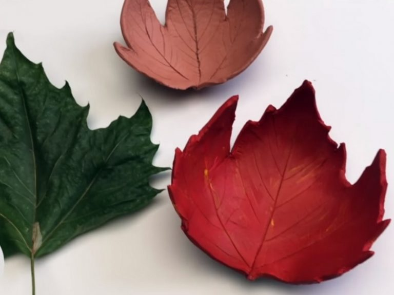 How to Make DIY Leaf Bowl