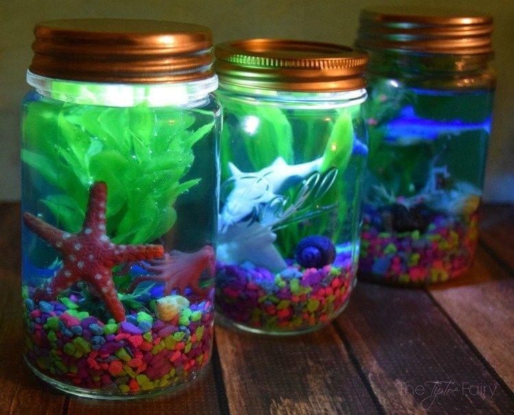 How to Make Aquarium Jar