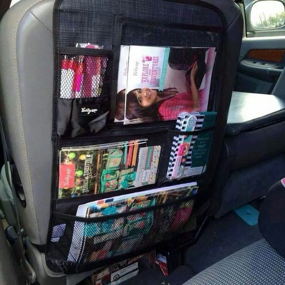 Diy Back Seat Car Organizer Craft Projects For Every Fan