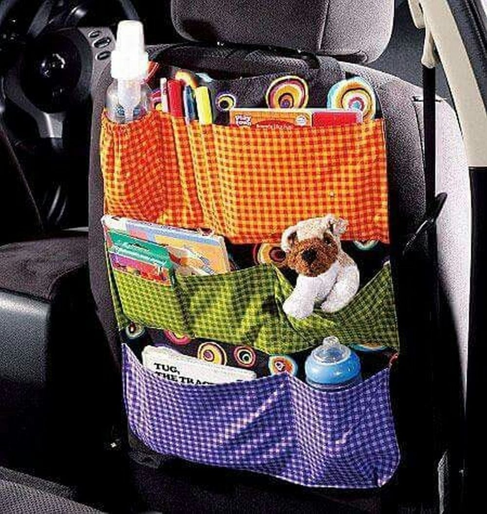 Say hello to a clutter-free, organized car!
