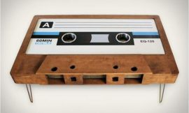 How to Build a Cassette Tape Coffee Table