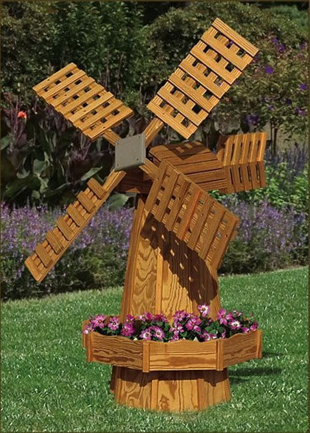 DIY Garden Windmill - Craft projects for every fan!