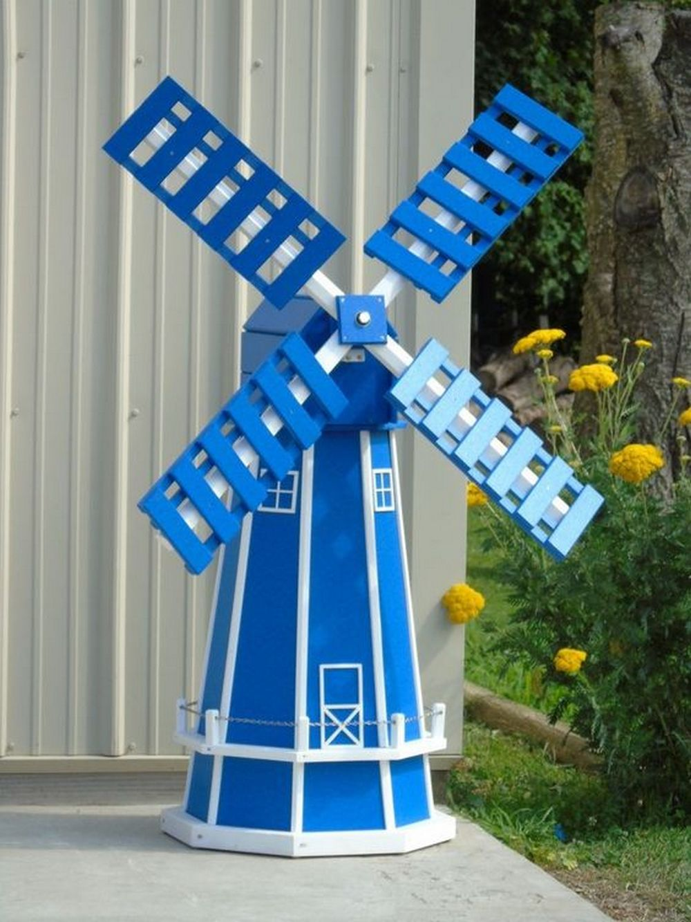 DIY Garden Windmill