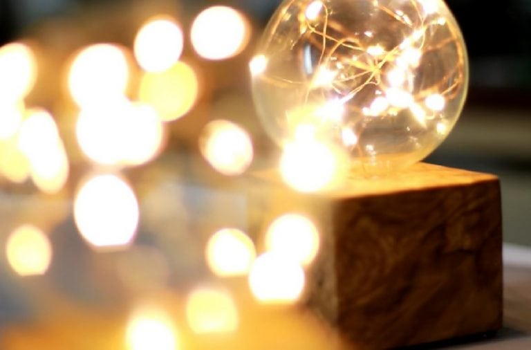 DIY LED Fairy Light Globes