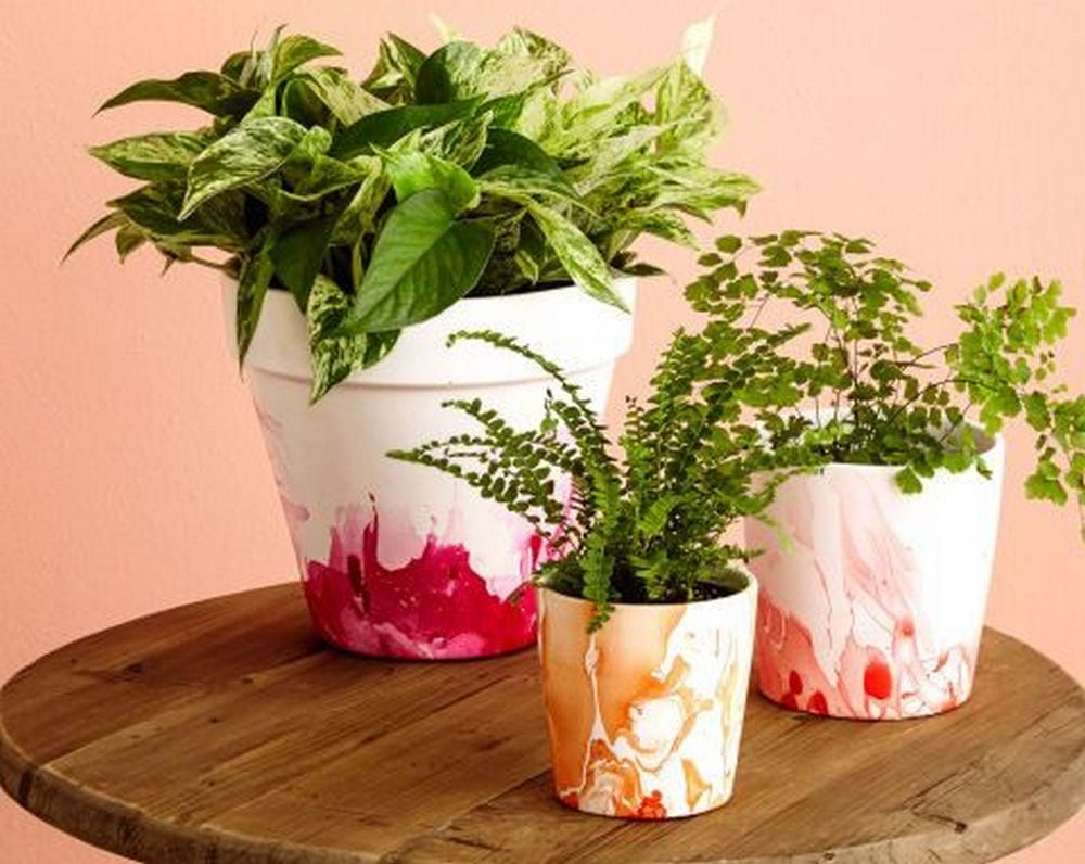 This DIY project is both useful and beautiful, you can give them out as gifts.