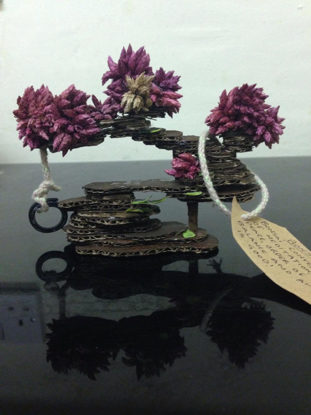 DIY Cardboard Bonsai Tree