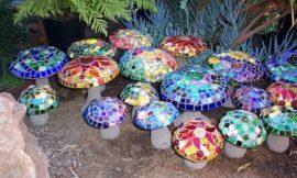 How to Make Concrete Mushrooms