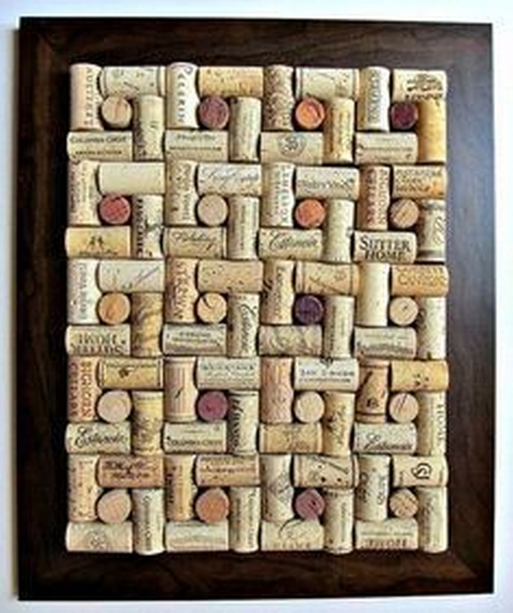 This DIY wine cork board would be a great gift for family and friends.