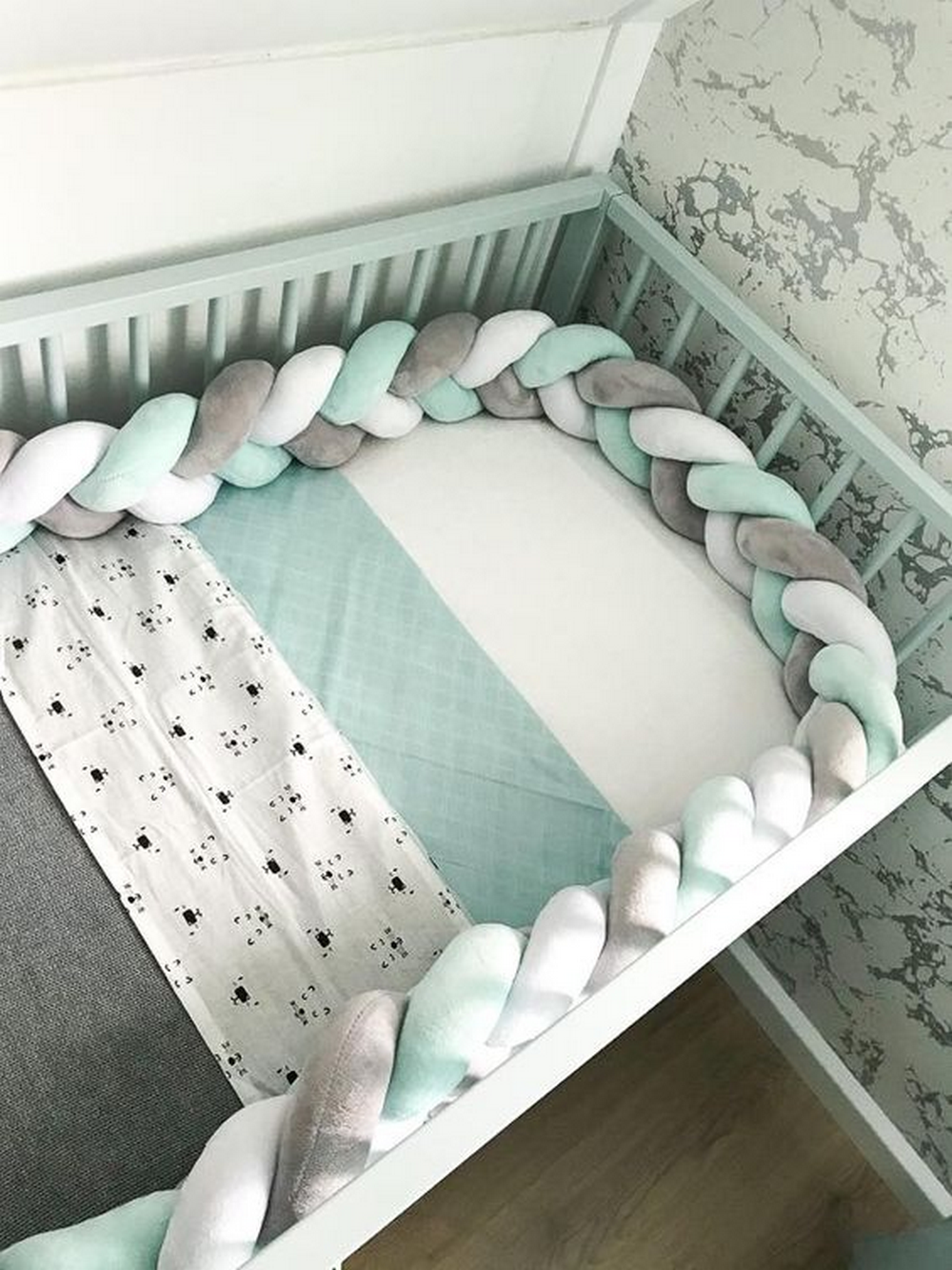 Make Your Own Braided Crib Bumper Craft Projects For Every Fan