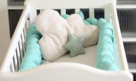 Make Your Own Braided Crib Bumper