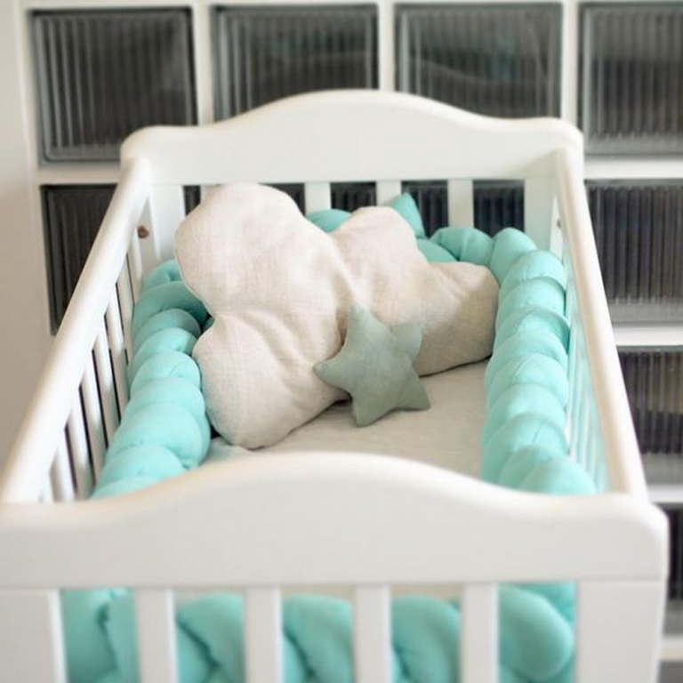Make Your Own Braided Crib Bumper