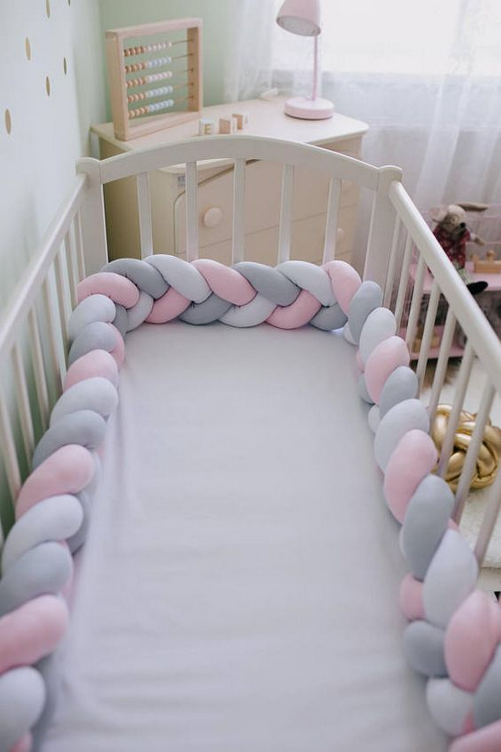 Make Your Own Braided Crib Bumper Craft Projects For
