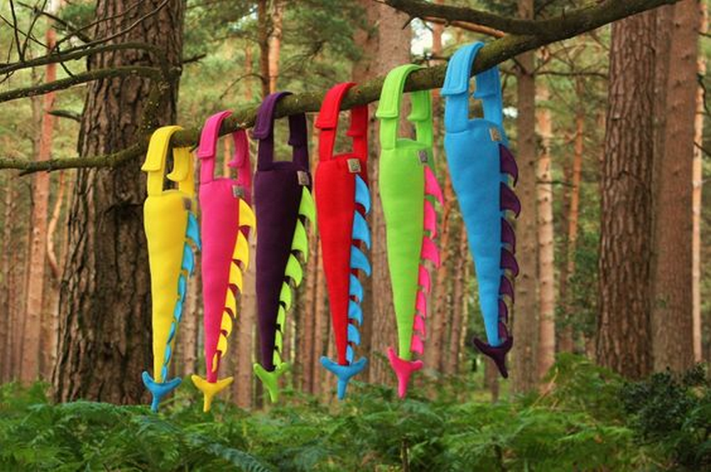 These adorable dino tails stimulate creativity and imagination.