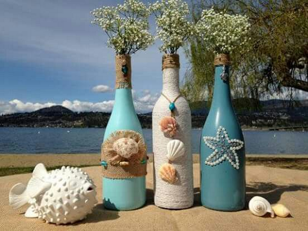 These will make great decors at home or in a beach-themed party.