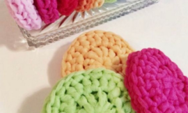 How to Crochet Dish Scrubbers