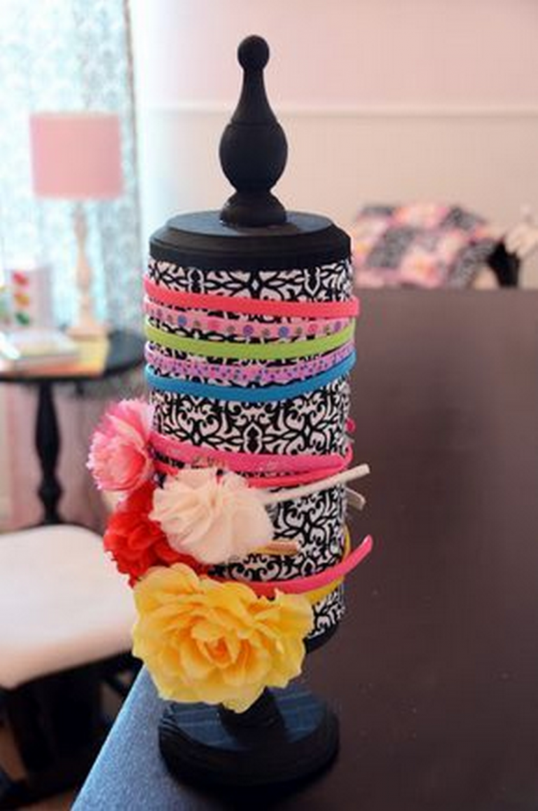 How to Make a DIY Headband Organizer