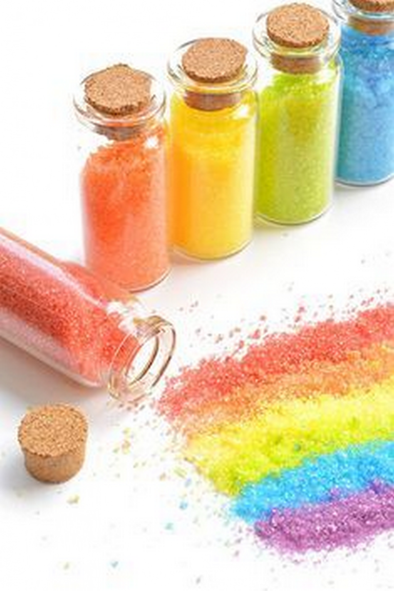 How to Make Your Own Glitter