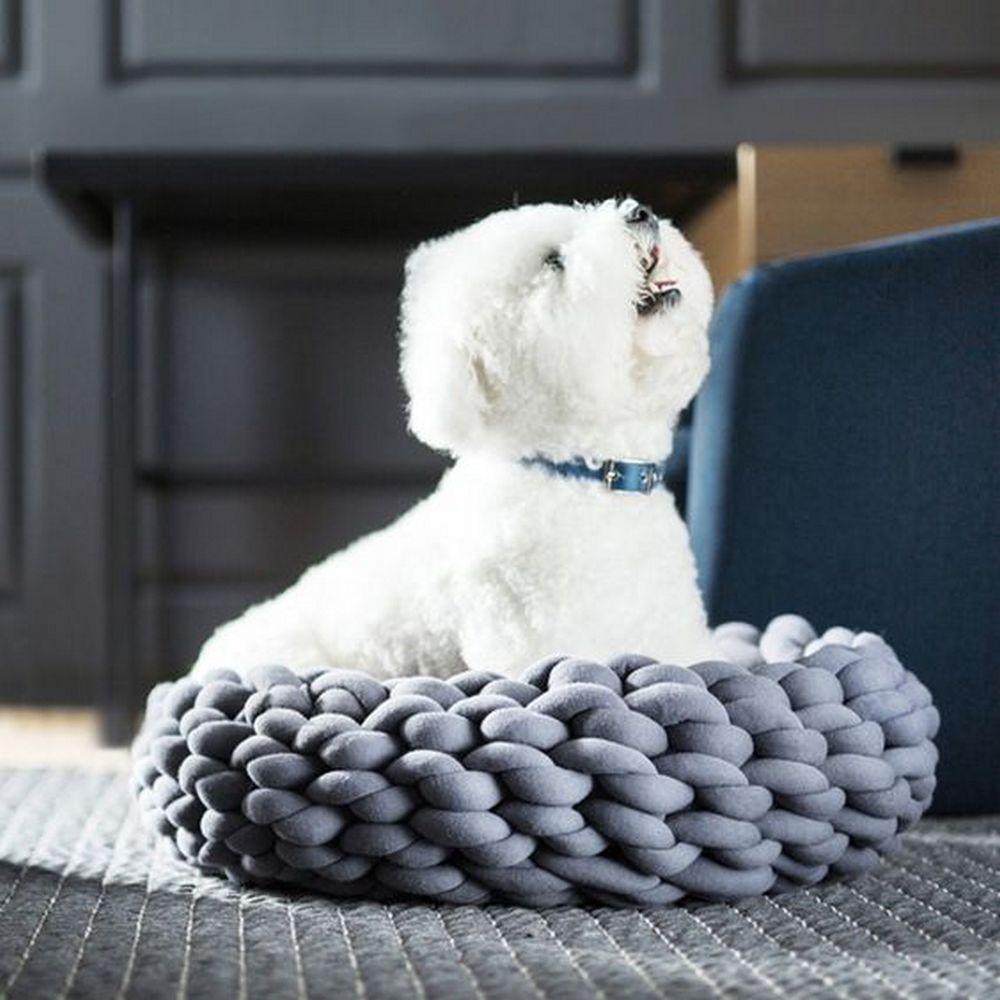 DIY Braid Pet Bed