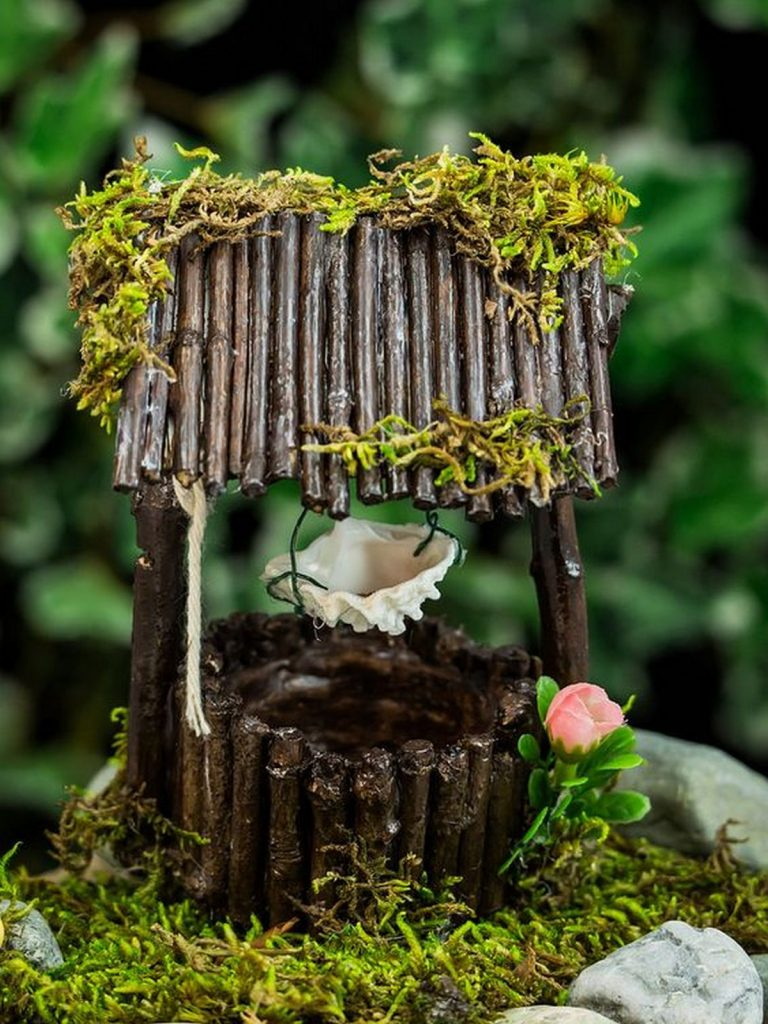 DIY Fairy Garden Well