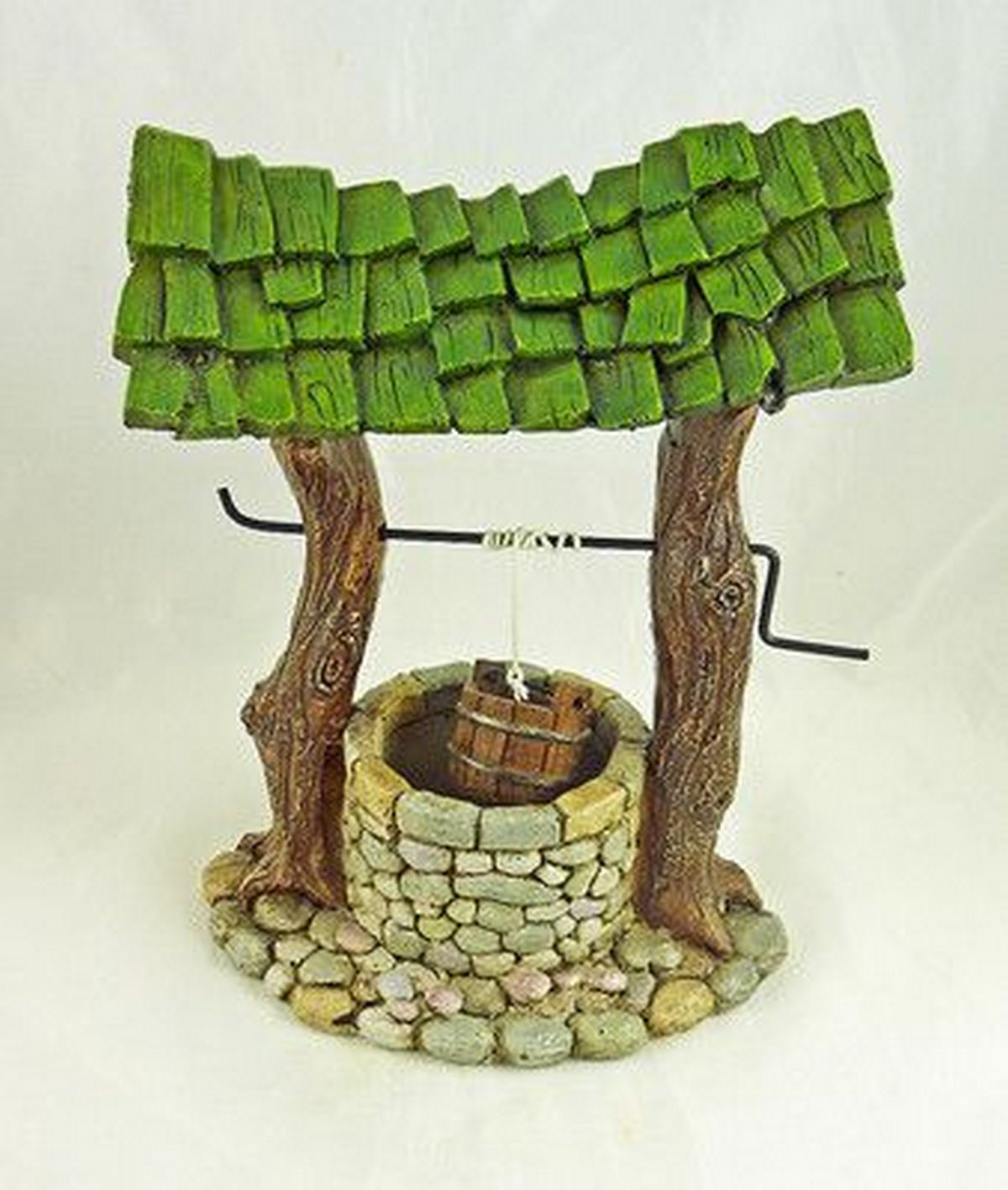 There are various fairy garden well designs that you can choose from.