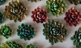 How to Make Pistachio Shell Flowers