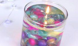 DIY Decorative Water Candles