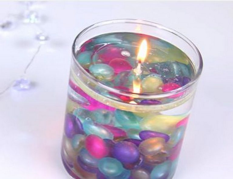 DIY Decorative Water Candles
