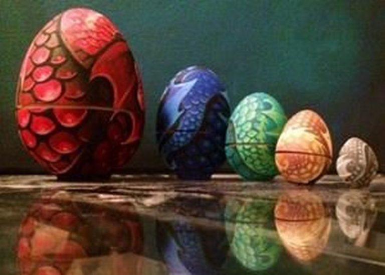 How to Make Dragon Eggs