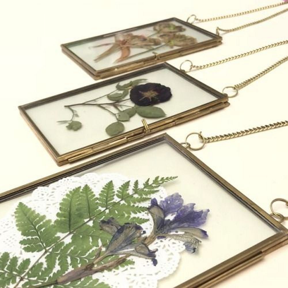 Pressed flower frames are great ways to preserve gorgeous blooms.