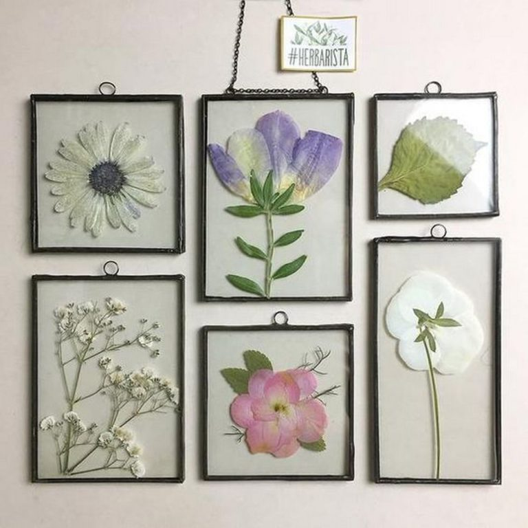 How to Make Pressed Flower Frames
