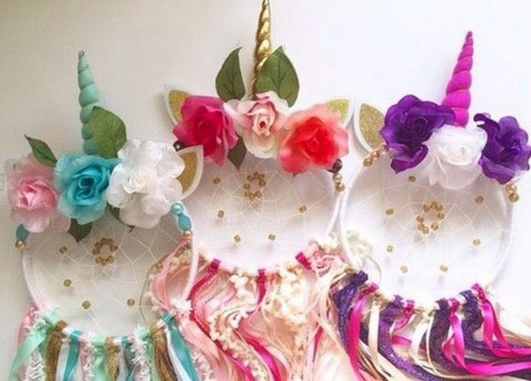 Make Your Own Unicorn Dreamcatcher