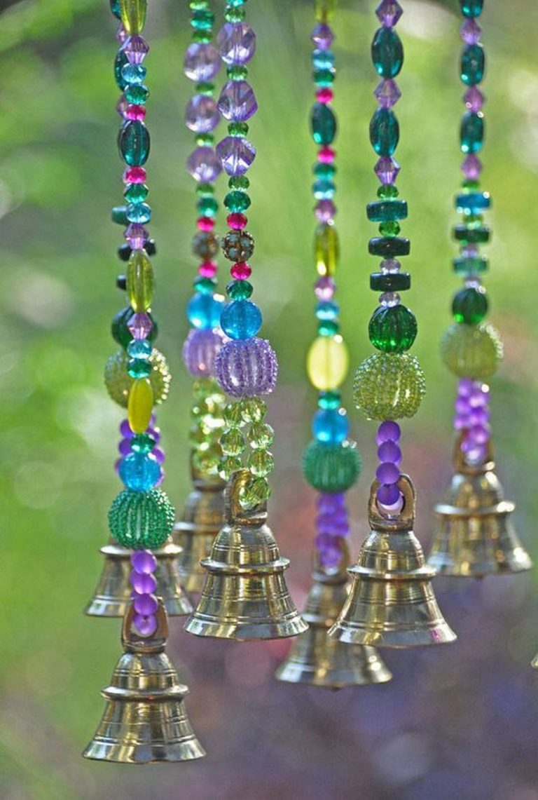 DIY Beaded Wind Chime