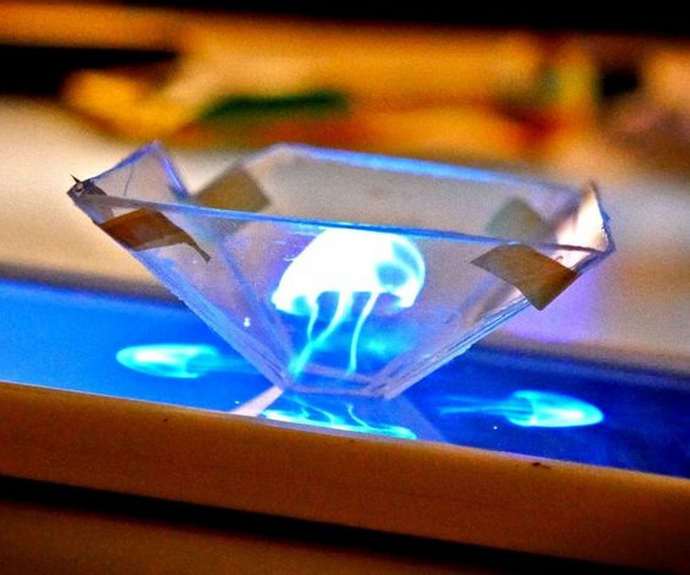 DIY 3D Hologram Projector