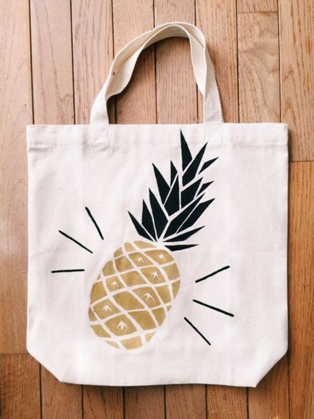 Design Your Own Tote Bags with Stencils!