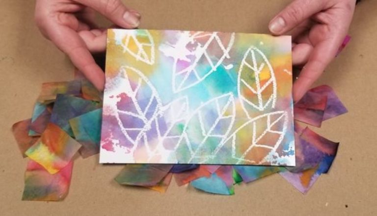 Turn Tissue Paper Into a Stunning Work of Art!