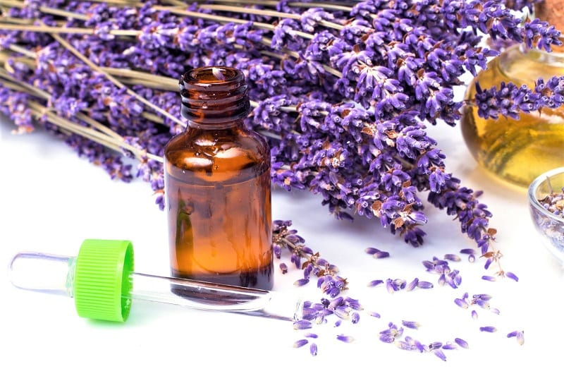 Transfer your lavender oil to a bottle or jar made of dark glass or opaque plastic to prevent over-exposure to light.