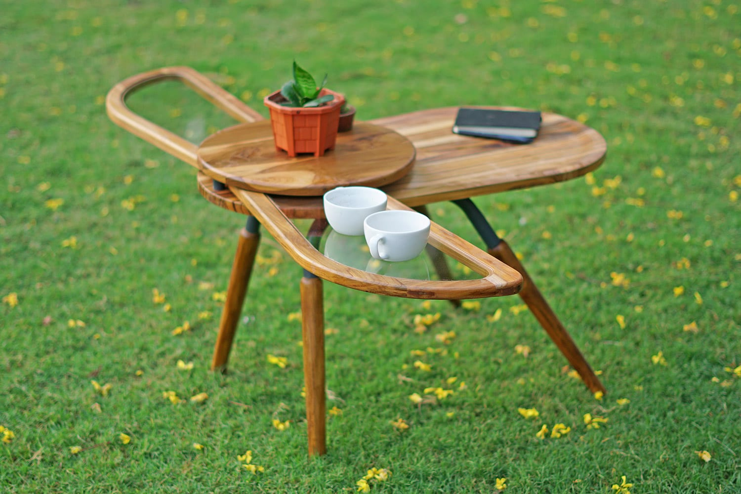 Elytra: The Beetle-Shaped Coffee Table With Fold-Out Wings!